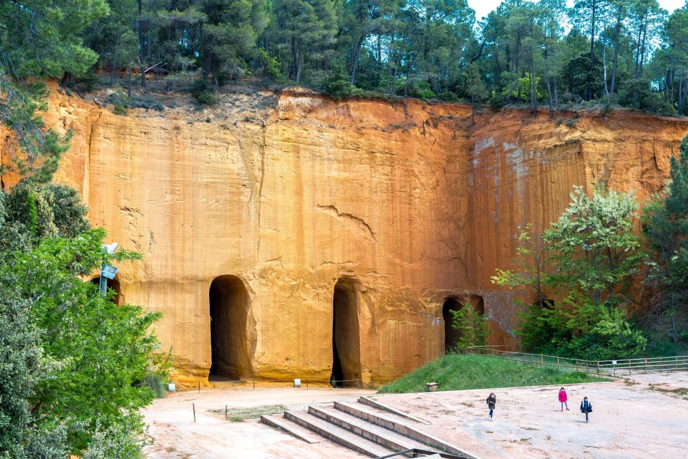 Colorado Provençal Gargas Mines de Bruoux